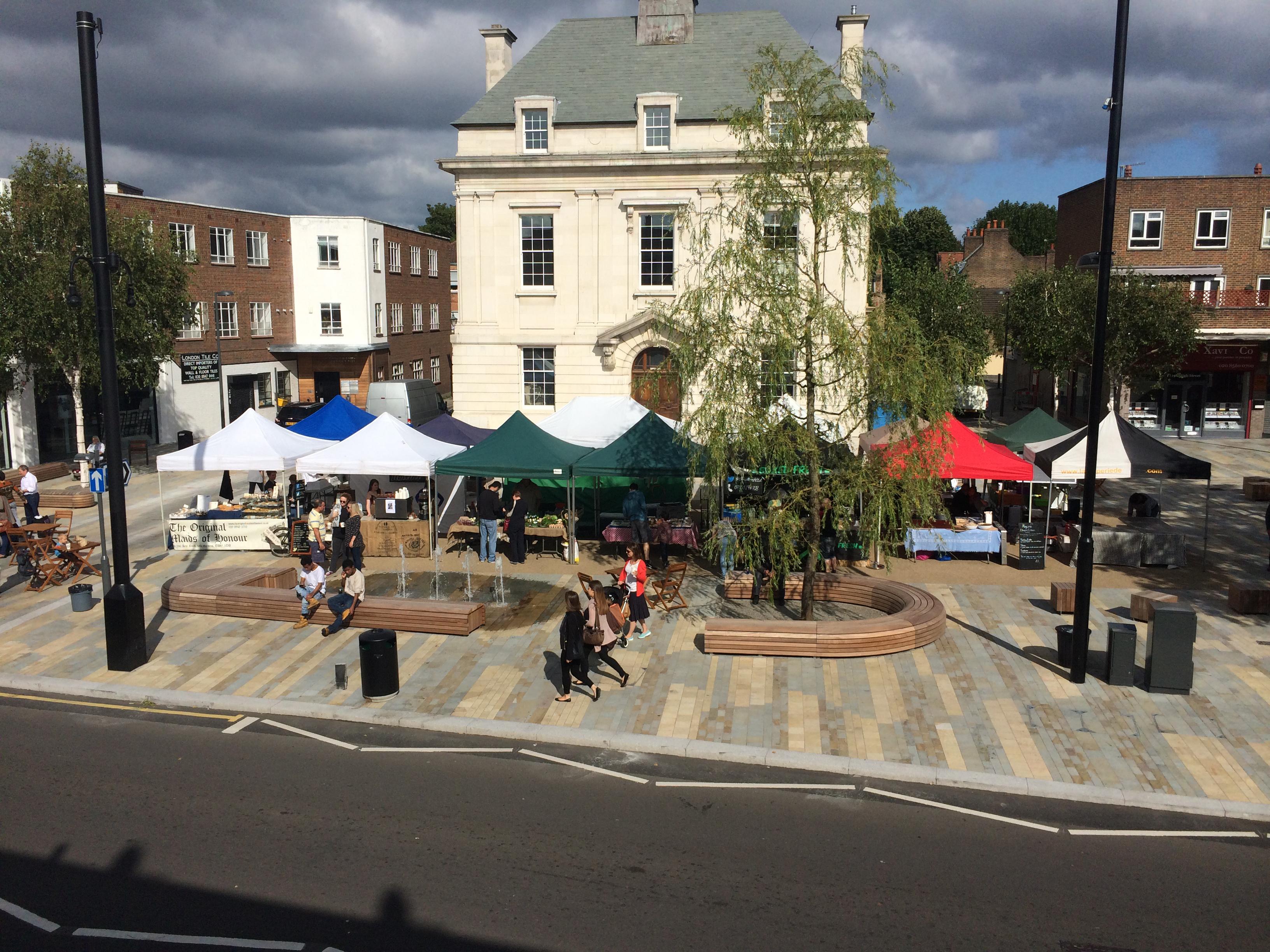 Brentford Market Square