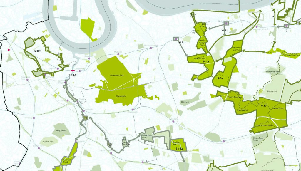2008: The East London Green Grid (ELGG)