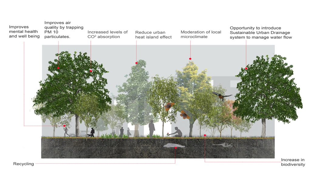 Finalist: Green (Burial) Infrastructure | Ann Sharrock, Landscape Architect and Ian Fisher, Manchester School of Architecture