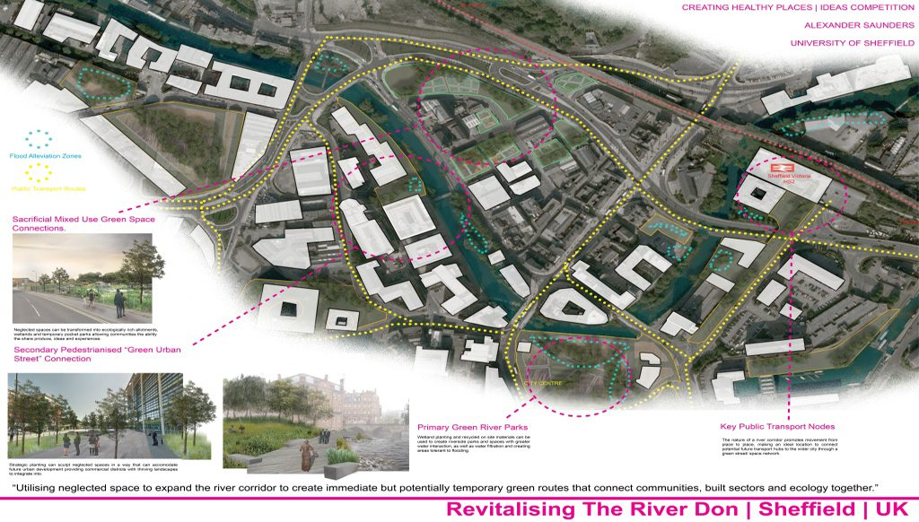 Finalist: Revitalising the River Don | Alexander Saunders, University of Sheffield