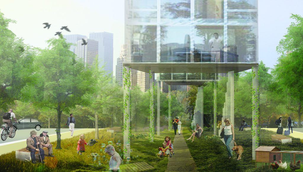 Finalist: Park life | Hannah Cameron & Atkins Shanghai Design Studio