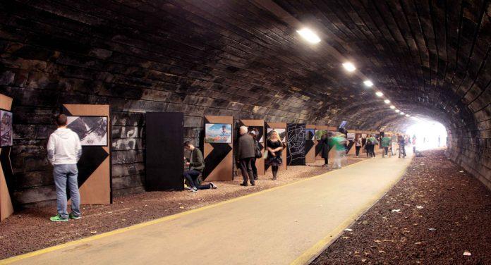 Hold Me Dear, Rodney Street tunnel, Edinburgh, by Here+Now