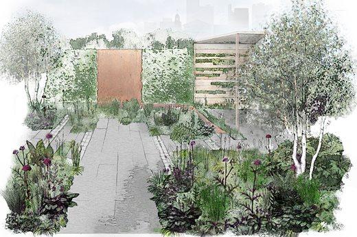Landscape architect Katie Maude's 'urban' garden