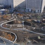 Jubilee Gardens construction site