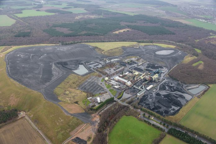 Thoresby Colliery in January 2016