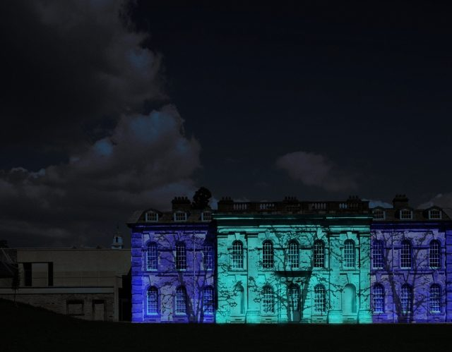 Compton Verney light show