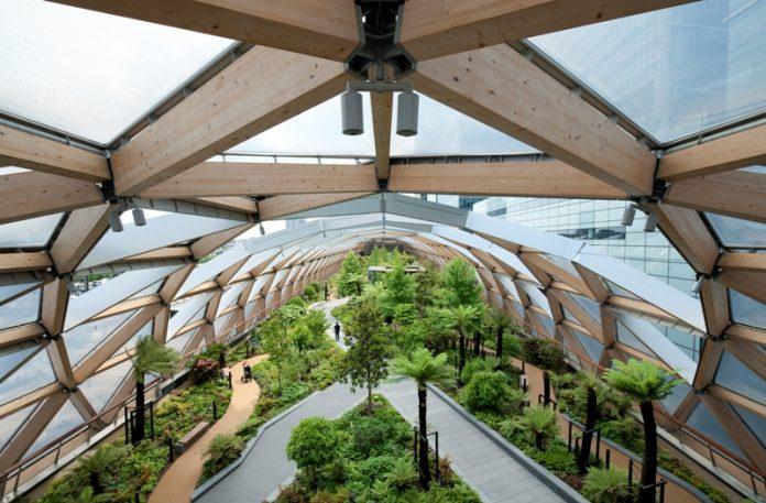 Crossrail Roof Garden Landscape Institute