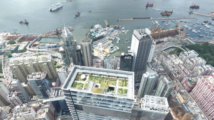 Hysan Place Rooftop Farm, Causeway Bay, HK