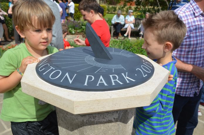 Sundial Kennington Park Gardens