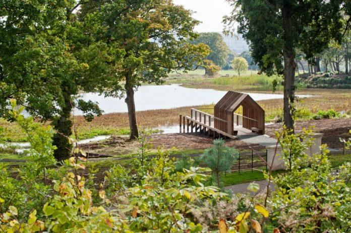 Larbert timber viewpoint
