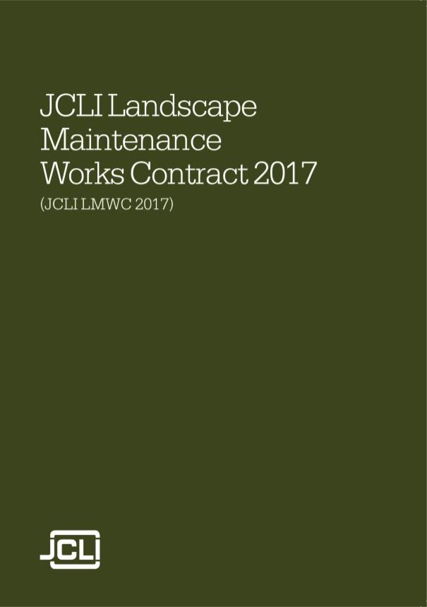 Landscape Maintenance Works Contract   Landscape Institute