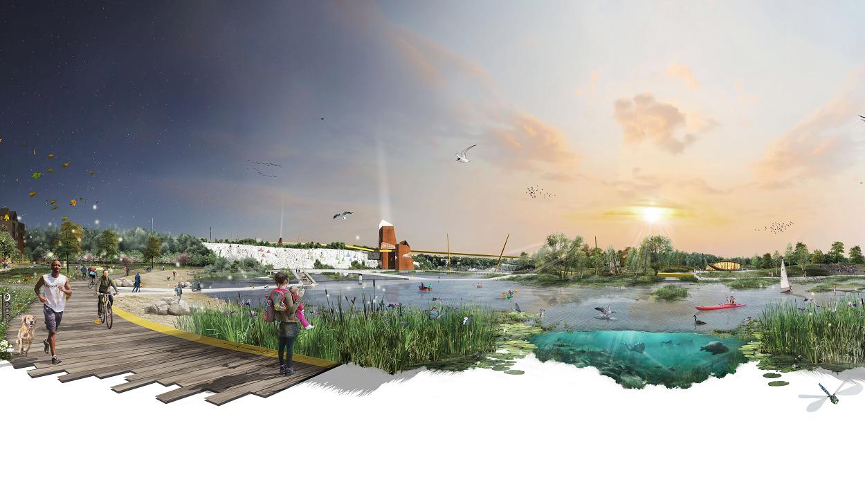 Ebbsfleet Design Competition Winner Shortlisted For World Landscape Architecture Award Landscape Institute
