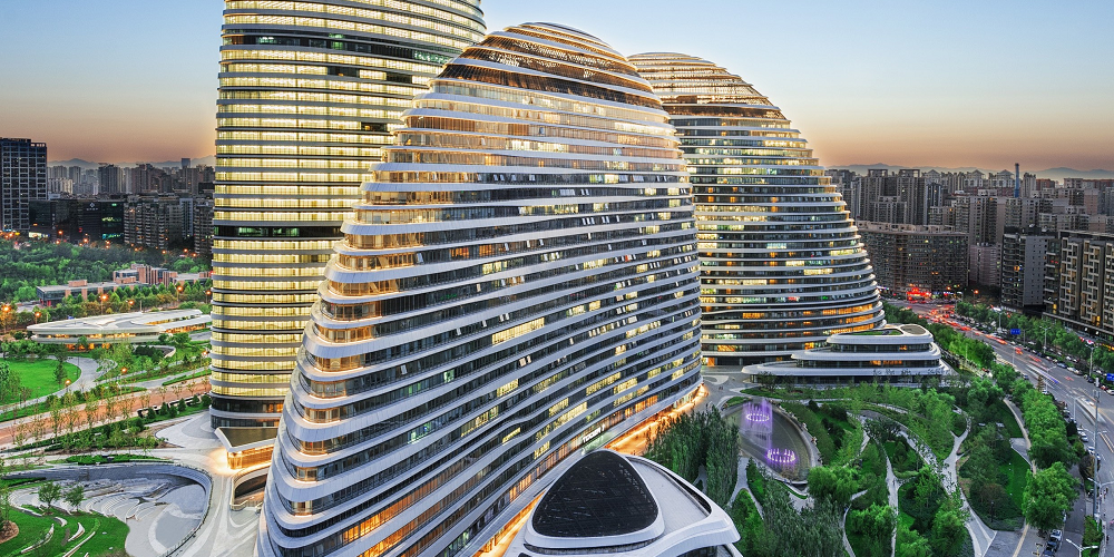 Wangjing SOHO Parks: Creating a New Green Urban Hub - Ecoland Planning and Design Corporate