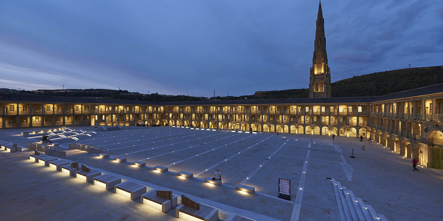 The Piece Hall Transformation Project - Gillespies