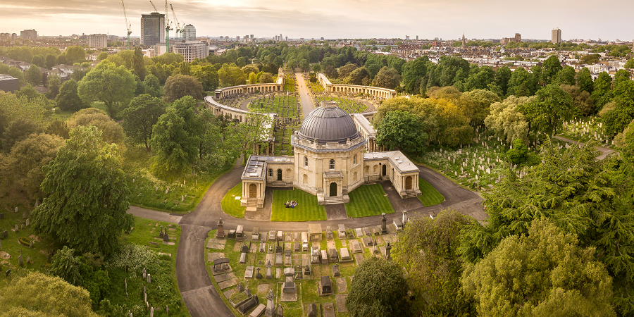 Brompton Cemetery Conservation Project - LDA Design
