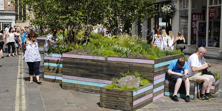 St Helen's Moorish-Stitch: A Garden on Behalf of McArthurglen Designer Outlet York - Urban Wilderness