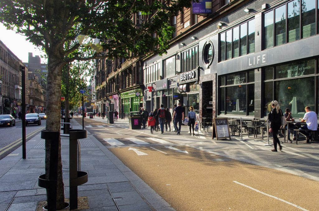 liawards2020-winner16-sauchiehall-street-avenue-urban-movement-limited-glasgow-city-council