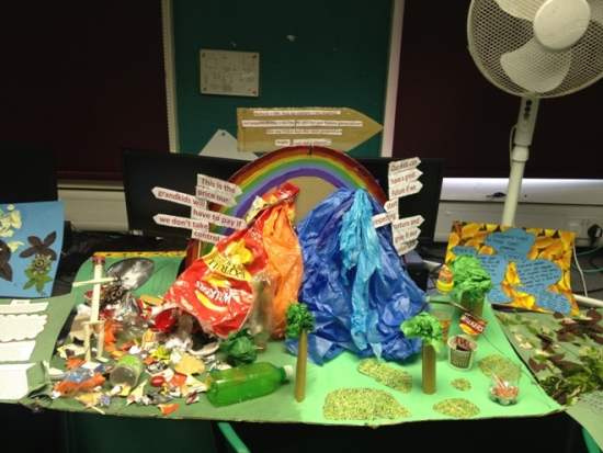 The winning Green Day project at Corelli College