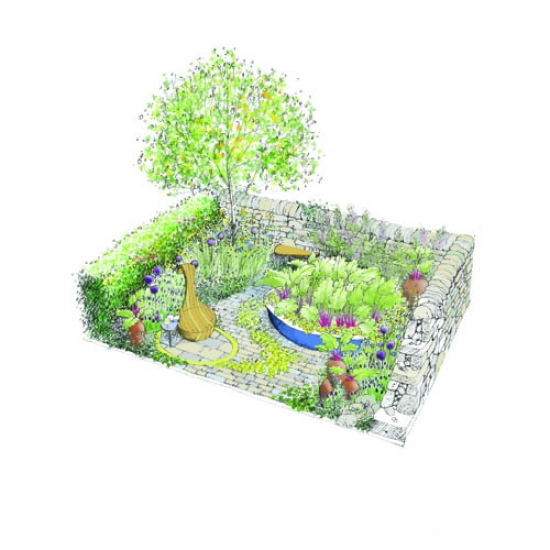 Gillespies' Chelsea Flower Show garden