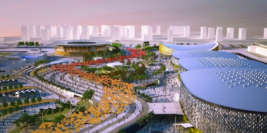 AECOM has been awarded additional design responsibilities at the Rio 2012 Olympic Park. © AECOM