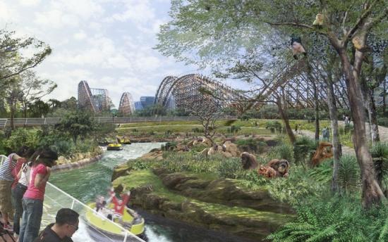 The team's winning design for Seoul Grand Park