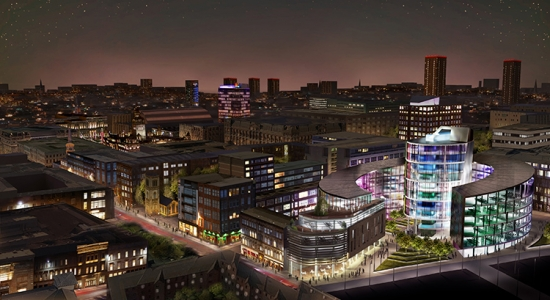 BDP's proposal for the University of Strathclyde's Technology and Innovation Centre (TIC)