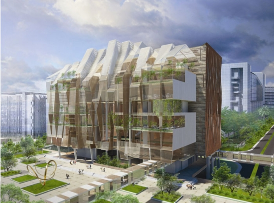 Broadway Malyan's design for Singapore's National Heart Centre