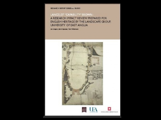 The Capability Brown report © English Heritage