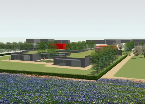 An artist's impression of what the new site will look like