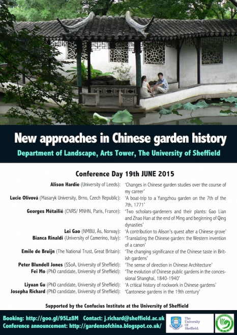 Conference reexamines Chinese garden history