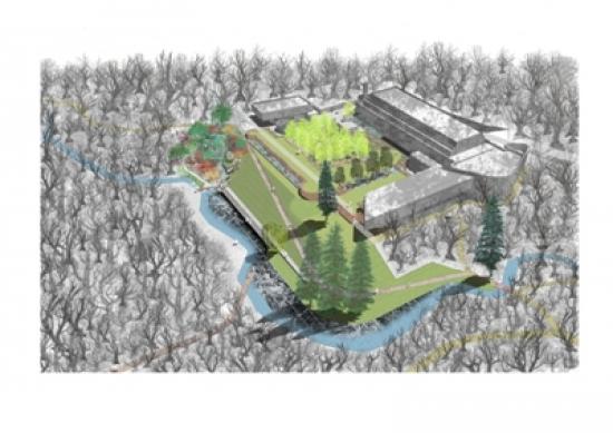 erz's masterplan for St Peter's/ Kilmahew