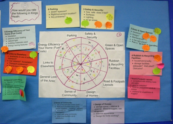 Mapping residents' views was an important part of developing Exeter City Council's SPD