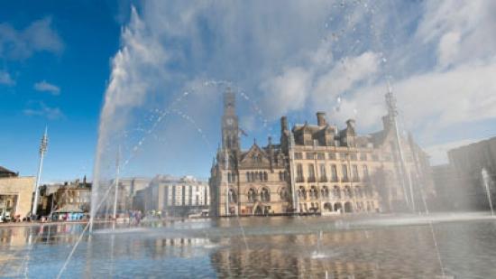 Bradford's Gillespies-designed city centre