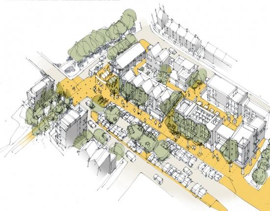 An overview of the plans for the neighbourhood scheme