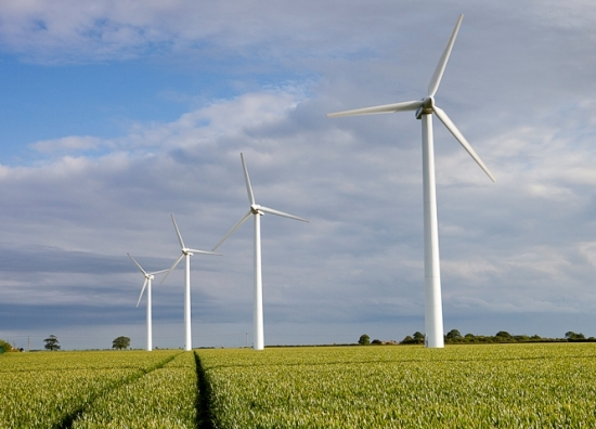 A view of wind farm