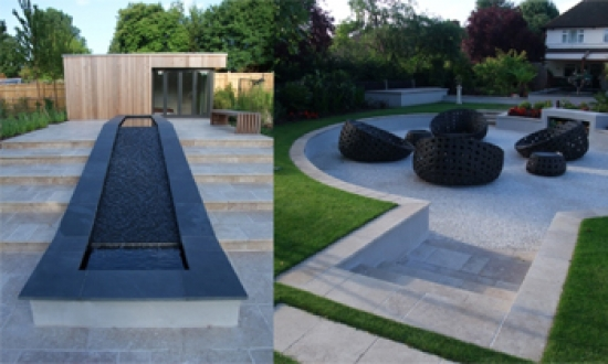Bowles & Wyer private garden scheme in Surrey