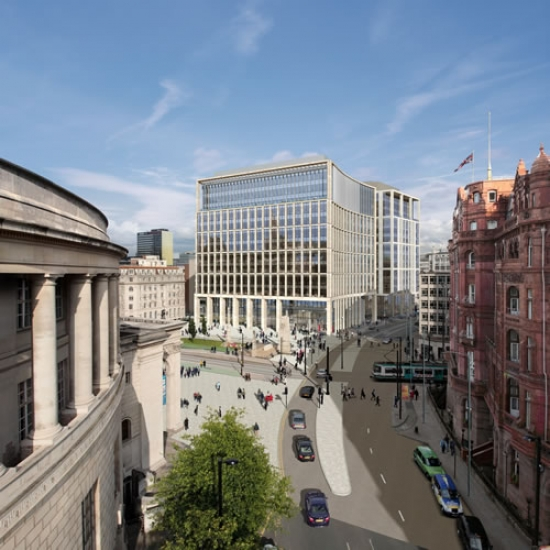 One St Peter's Square will replace the existing Elisabeth House