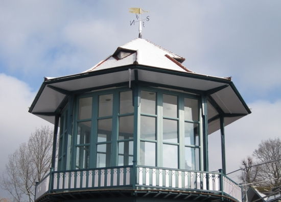 Restored bandstand at the Horniman Museum