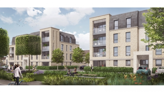 HTA Design LLP gets go-ahead for Foxhill housing scheme