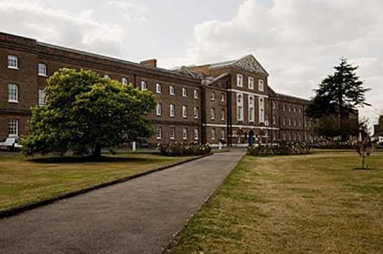 When it was finished in 1761, the Royal Hospital Haslar