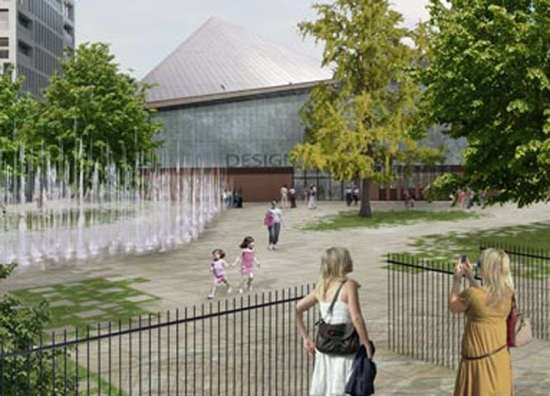 Designs for the new Design Museum for Kensington High Street. Photograph: OMA.