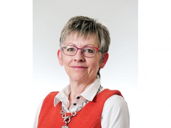 Landscape architect Sue Evans