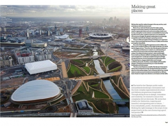 Download your free copy of 'Landscape Architecture - A guide for clients' from iTunes