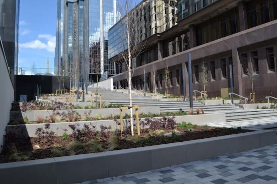 LDA Design create public realm at heart of Glasgow development
