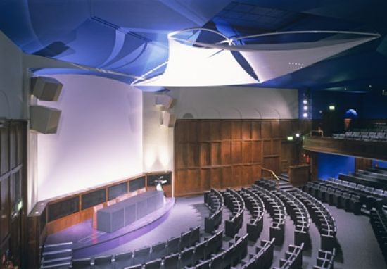 The Royal Geographical Society's lecture theatre