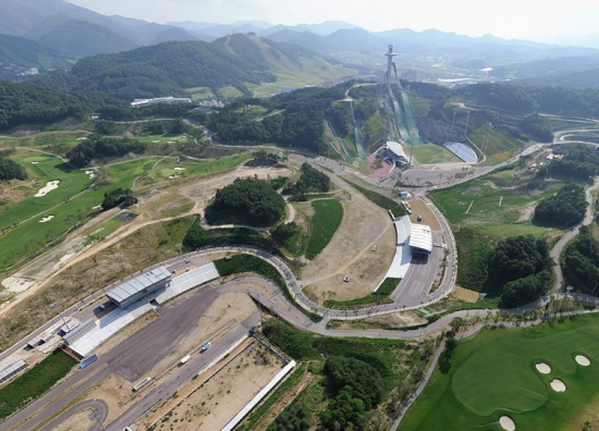 The 2018 Winter Olympics in PyeongChang, Korea, expand an existing winter/summer sports park