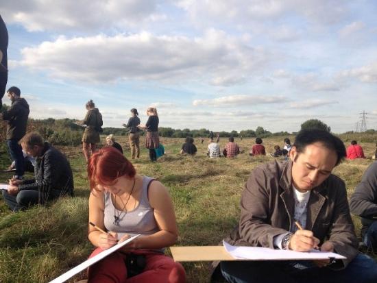 Landscape Institute doodlers