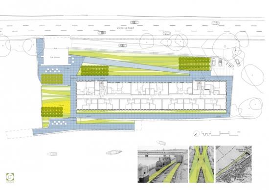 LT Studio reveals plans for project on Derry riverfront