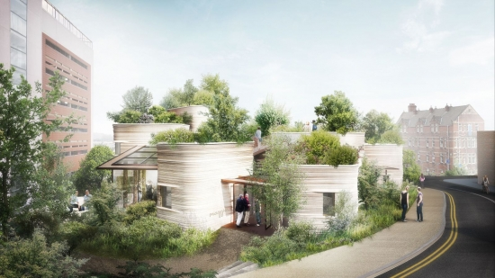 Marie-Louise Agius designs landscape for latest Maggies Centre