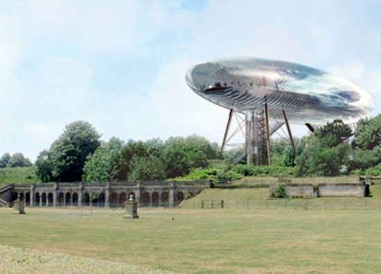Design for a sculpture park in Crystal Palace Park from 2003. Source: Londonist